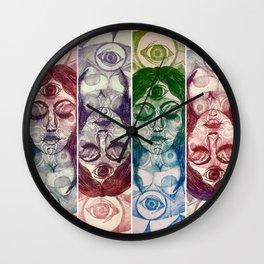 Visions Wall Clock