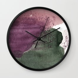 organic shapes Wall Clock