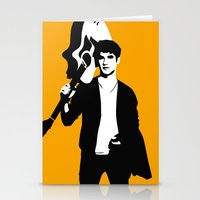 darren criss Stationery Cards featuring Darren Criss with guitar! by byebyesally