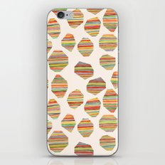 watercolor geometric lines iPhone & iPod Skin