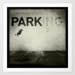 Banksy Tag Art Print