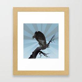 Old World Vulture Framed Art Print