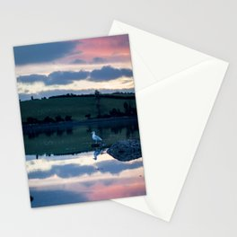 Perched on Strangford Lough Stationery Cards