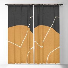 Minimal Abstract Art 27 Blackout Curtain