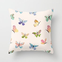 Beautiful Butterflies Throw Pillow