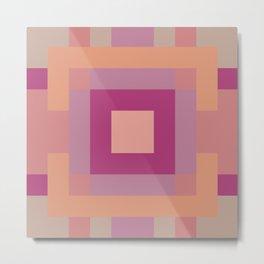 Cubix Metal Print