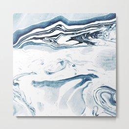 Marble fade Metal Print
