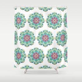 Mandala Artistica Spring Shower Curtain
