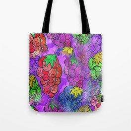 Grapevine Watercolor Tote Bag