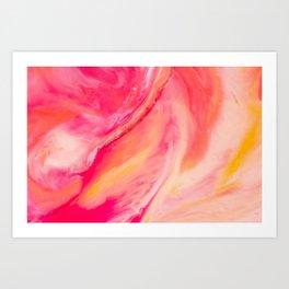 Wax Nebula Art Print
