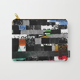 colored photocopy Carry-All Pouch