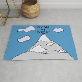You Are My Everest Rug