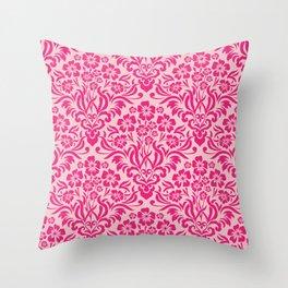 Damask Pattern 6 Throw Pillow