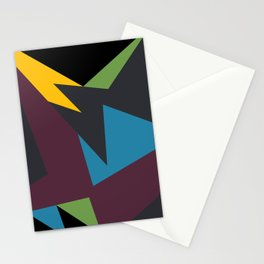 VII Bordeaux Stationery Cards