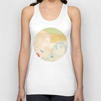 eternal sunshine Tank Tops featuring Eternal Sunshine of the Spotless Mind by Itxaso Beistegui Illustrations