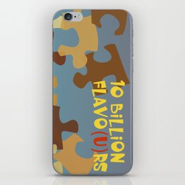 10 Billion Flavo(u)rs iPhone Skin