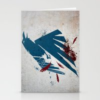 infamous Stationery Cards featuring inFamous Second Son Good Karma by Kyrsten Carlson