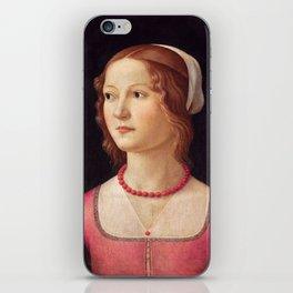 Italian Art Print iPhone Skin