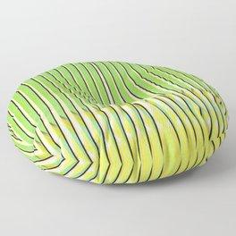 Traveler's Palm Floor Pillow