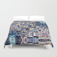 community Duvet Covers featuring Community of Cubicles by Phil Perkins