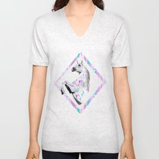 ▲TWIN SHADOW ▲by Vasare Nar and Kris Tate  Unisex V-Neck