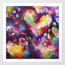 Ready for your Love Art Print
