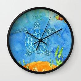 Secret Turtle Wall Clock