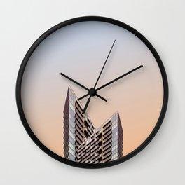 LND CLR X4 London Colour Architecture Art Wall Clock