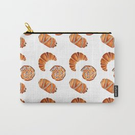 French pastries - croissant, chocolate, rasin Carry-All Pouch