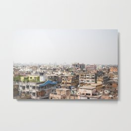 From The Rooftops of India Metal Print