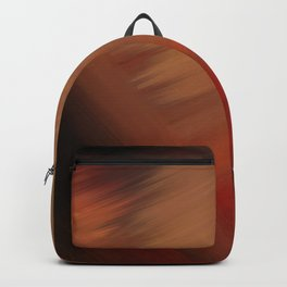 Interconnectedness in Gold, Tan and Orange Blends Backpack