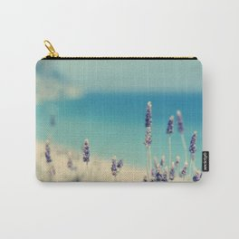 beach - lavender blues Carry-All Pouch