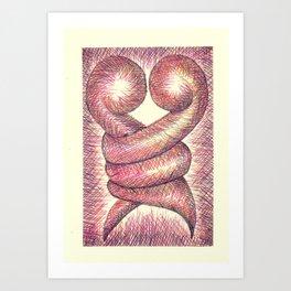 Kera Damo 026 Art Print