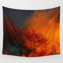Violent Autumn #2 Wall Tapestry
