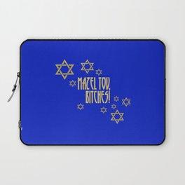 You go, girl! (blue) Laptop Sleeve