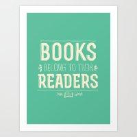 john green Art Prints featuring Books- John Green by deducktion