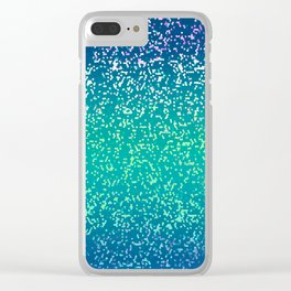 Glitter Graphic G83 Clear iPhone Case