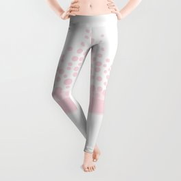 Pink Champagne Bubbles Leggings