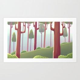 Dásos Art Print