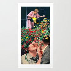 Growing Love Art Print