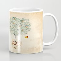 tree of life Mugs featuring Life Tree by Paula Belle Flores