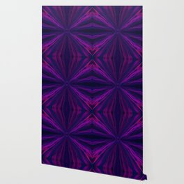 Purple light trails pattern Wallpaper