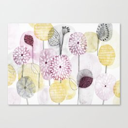 Petals and flowers Canvas Print