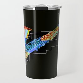Sounds of music. Saxophone. Travel Mug