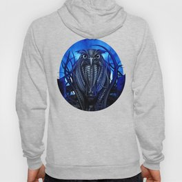Mechanical Owl - Blue Hoody
