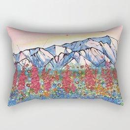 Denali Alpenglow Rectangular Pillow