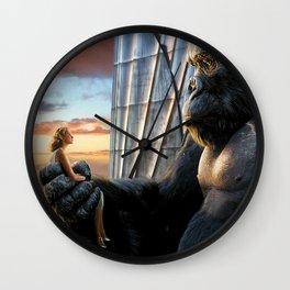 King Kong y Ann Darrow Wall Clock
