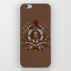 Murray crest iPhone & iPod Skin