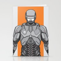 robocop Stationery Cards featuring Robocop  by EkaPerdana27