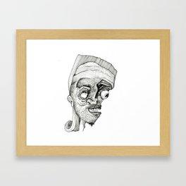 Mullet. Framed Art Print